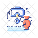 Underwater Archaeology Icon