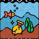 Underwater Archeology Underwater Archaeology Archaeology Icon