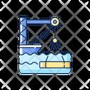 Underwater Construction Icon