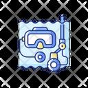 Underwater Inspection Icon