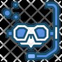 Equipment Glasses Scuba Icon