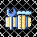 Underwater Pipeline Repair Icon