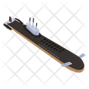 Underwater Submarine Icon