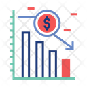 Underweight Investment Loss Insecure Money Icon