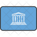 Unesco Country Flag Icon