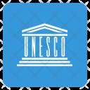 Unesco Flag Circle Icon