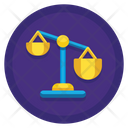 Unfair Competition Balance Competition Icon