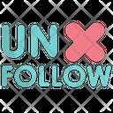 Unfollow Icon