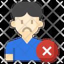 Unfollow Remove Friend Person Icon