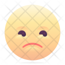 Unhappy Emoji Smiley Icon