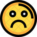Unhappy Sad Man Icon
