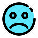 Emoji Sad Expression Icon