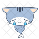 Sad Unhappy Tear Icon