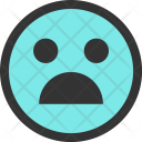 Unhappy Emoji Face Icon