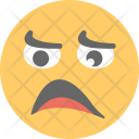 Unamused Face Sad Icon