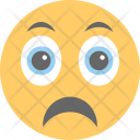 Sad Face Unhappy Icon