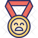 Award Unhappy Badge Icon