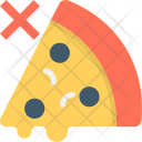 Unhealthy Food Pizza Icon