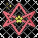 Unicursal Hexagram Icon