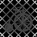 Bicycle Unicycle Icon