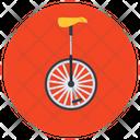 Unicycle Monocycle One Wheel Cycle Icon