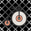 Unicycle Bicycle Icon