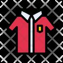 Uniform Shirt Student Icon