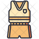 Uniform School Wearing Icon