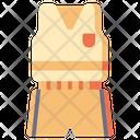 Uniform Clothes School Icon