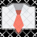 Uniform Male Tie Icon