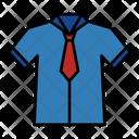 Uniform Tie Wear Icon