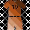 Uniform Shirt T Shirt Icon