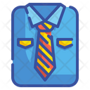 Uniform Tie Clothing Icon