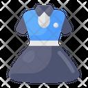 Uniform Frock Woman Dress Womenswear Icon