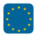 Eu Europe European Icon