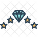 Unique Diamond Icon