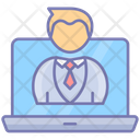 Unique Visitor Website Statistic Icon