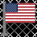 Flag Country Unitad States Icon