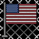 Unitad States Country Flag Flag Icon