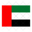 United Arab Emirates Flag Flags Icon
