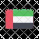 United Arab Emirates Flag Country Icon