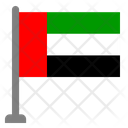 Flag Country United Emirates Arab Icon
