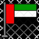 United Emirates Arab Country Flag Flag Icon