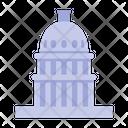Capitol Congress Government Icon