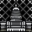 United States Capitol Washington Dc Icon