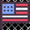 Groundhog Day United States Flag United States Icon