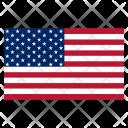 Flag Usa America Icon