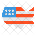 United States Of America America Country Icon