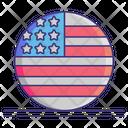 United States Of America Icon