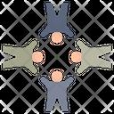 Unity Harmony Teamwork Icon
